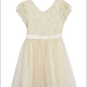 Speechless girls lace & tulle high low dress